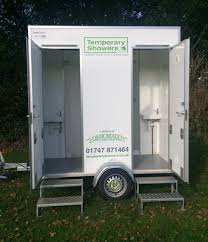 temporary facilities shower