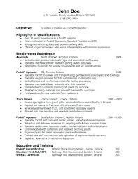 Food Service Resume Objective Examples Warehouse Resume Objective