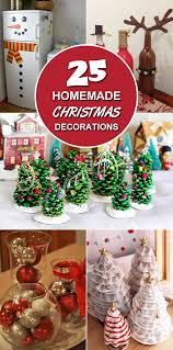 homemade christmas decoration ideas