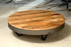 solid wood round coffee table astounding low modern with wooden and black steel base still need more modified to make this cof