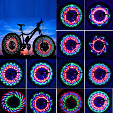 Bike Tire Lights Tgjor Bike Wheel Lights Led Waterproof Bicycle Spoke Tire Light With 32 Led And 32pcs Changes Patterns Bicycle Rim Lights For Mountain Bike Road