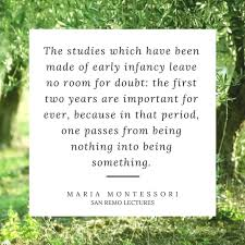 Maria Montessori Quotes Gorgeous The Best Montessori Quotes Fred Ted And Company