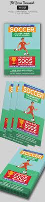 softball tour nt flyer template com graphicriver flat soccer tour nt flyer 18473469