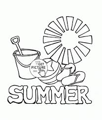 Small Picture Summer Activity Pages Coloring Coloring Pages