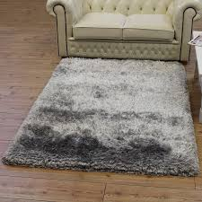 stylish area rugs extraordinary grey plush rug for inside soft ideas thick remodel 18