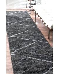 grey runner rug best choice of black and white runner rug at deal alert porch den