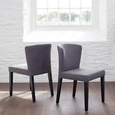 anita dining chair dark grey fabric