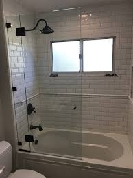 glass enclosure over bathtub san go