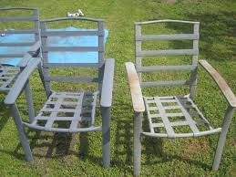 spray paint patio furniture spray painted lawn chairs on paint your patio seat cushions and transform