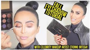 fall eyeshadow tutorial by celebrity makeup artist etienne ortega pur cosmetics palette review beauty beauty