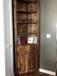 Corner Cabinet Shelving Unit Amazing Rustic Corner Cabinet Shelf Ideas Unit Luxuriant Saintloup