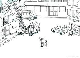 Free Fire Truck Coloring Pages Kinkenshopinfo