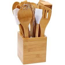 kitchen utensil: bamboo  piece kitchen utensil set