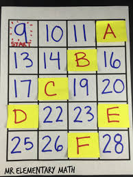 Count By 9 Chart 6 Strategies For Teaching Skip Counting Mr Elementary Math