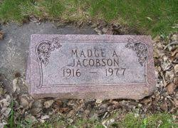 Madge Aileen Elvidge Jacobson (1916-1977) - Find A Grave Memorial