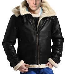 b 3 er ww2 real sheepskin fur flight leather jacket