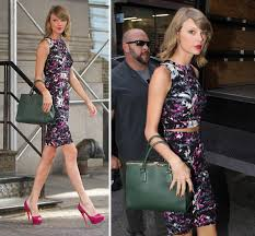 Small Picture Taylor Swift Werks It Out In Leopard Print While En Route To A