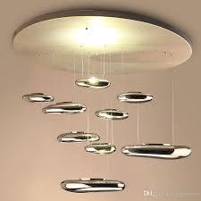 led pendant lamps mercury water drop droplight fashion lighting hotel living room ceiling light chandelier lamp electroplating chandelier black pendant
