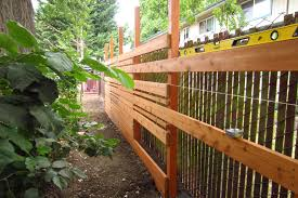 low horizontal wood fence. IMG_3849 Low Horizontal Wood Fence F