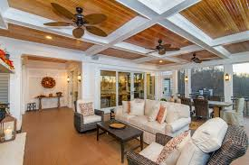 screened in porch with fireplace. Maryland Screened Porch Wood Ceiling In With Fireplace