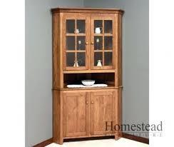 inspirating corner cabinet of oak corner hutch dining room corner hutch amusing dining room pic corner