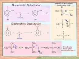 Types Of Organic Reactions Explanation Examples Reactions
