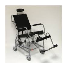 activeaid 285 tilt in space shower commode chair
