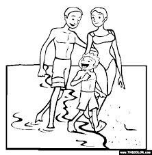 Small Picture Beach Online Coloring Pages Page 1