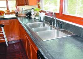 kitchen with marble look countertops step by step how to