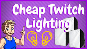 Best Streaming Lights Best Cheap Lighting Kit For Twitch Streaming Beyond