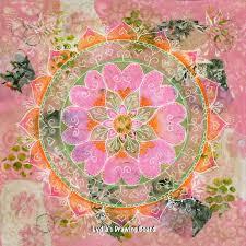 original yoga painting omwoman yoga meditate. Mandala Art, Wall Mandala, Original Painting, Meditation Yoga Painting Omwoman Meditate