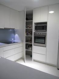 Modern Kitchen Pantry Cabinet Walk In Corner Larder Unit Google Search Kitchen Remodel
