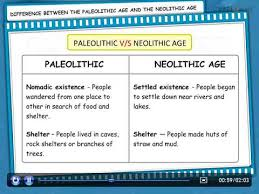 Neolithic And Paleolithic Venn Diagram Videos Matching Stone Age Paleolithic Age Cbse Ncert