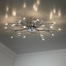 possini euro design lighting. Modern Branch Chrome Possini Euro Design Ceiling Light Lighting S