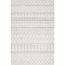 blythe grey 3 ft x 5 ft area rug