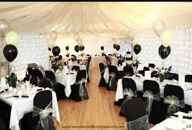 wedding theme silver. Function Suite dressed for Wedding Theme here was black and Silver