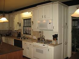 image of mid century painting kitchen cabinets ideas pictures
