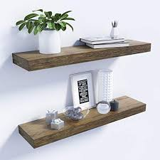 natural bamboo wall shelf wall mounted