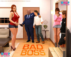 Bad Boss Y3DF Comics Manics