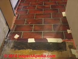 interesting brick flooring pattern vinyl sheet from containing asbestos in mastic c floor