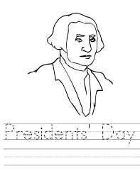 Small Picture George Washington Coloring Sheet Washington Presidents Day