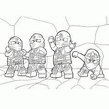 Kleurplaat Lego Ninjago C