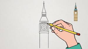 Apprendre Dessiner Big Ben Youtube
