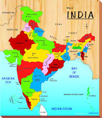 buy kinder creative india map brown online at low prices in india