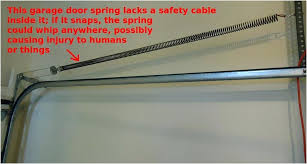 how to fix a garage door cable extension spring garage door cable perfect on exterior pertaining