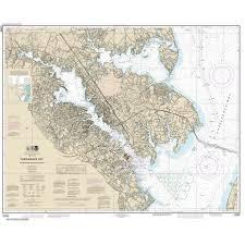 Noaa Chart 12282 Chesapeake Bay Severn And Magothy Rivers
