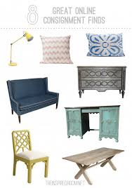 8 Great line Furniture Consignment Finds The Inspired Room