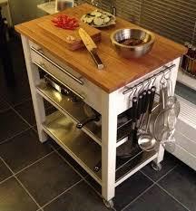 FRHJA Kitchen cart birch Kitchen carts Kitchen trolley and