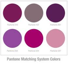 Colour matches. I think Pantone 242 would be a perfect balance between rich  and bright