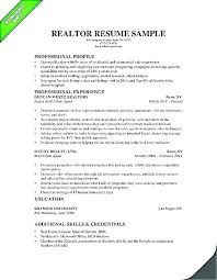Commercial Real Estate Appraiser Sample Resume Custom Download Real Estate Resume Examples Agent Profile Template Ideas